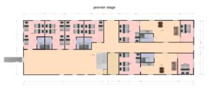 plan premier etage